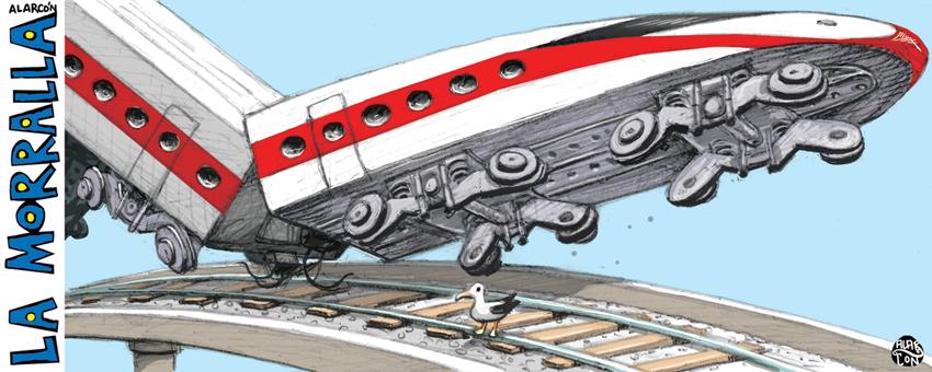 El tren y la gaviota - Alarcón