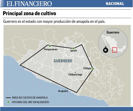 CETEG 'respeta' zonas de amapola en Guerrero Amapola1
